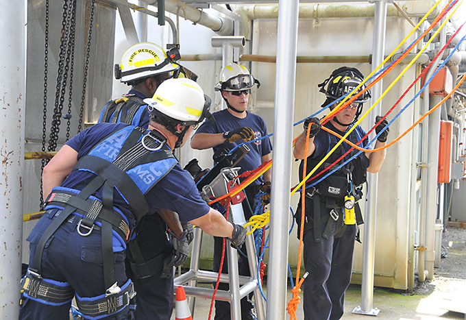 Arnold Fire and Emergency Services special rescue team highly trained