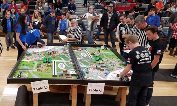 FIRST® LEGO® League teams sponsored by Arnold STEM place in regional qualifying tournament