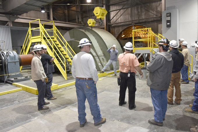 Combined effort achieves timely replacement of crane at AEDC Propulsion Wind Tunnel