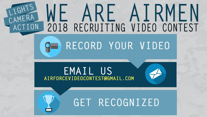 We Are Airmen: 2018 Recruiting Video Contest